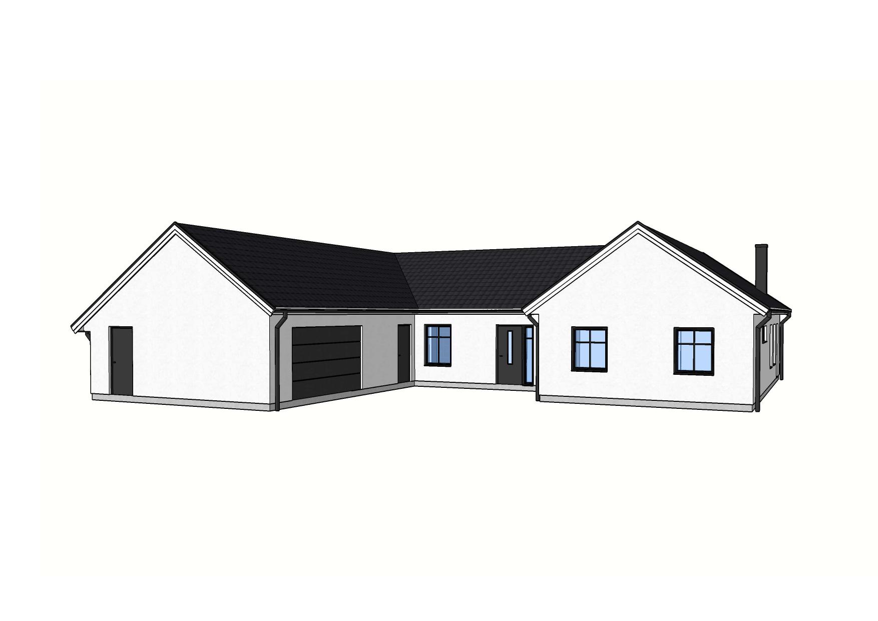 Fasad Hedeskoga – Referenshus