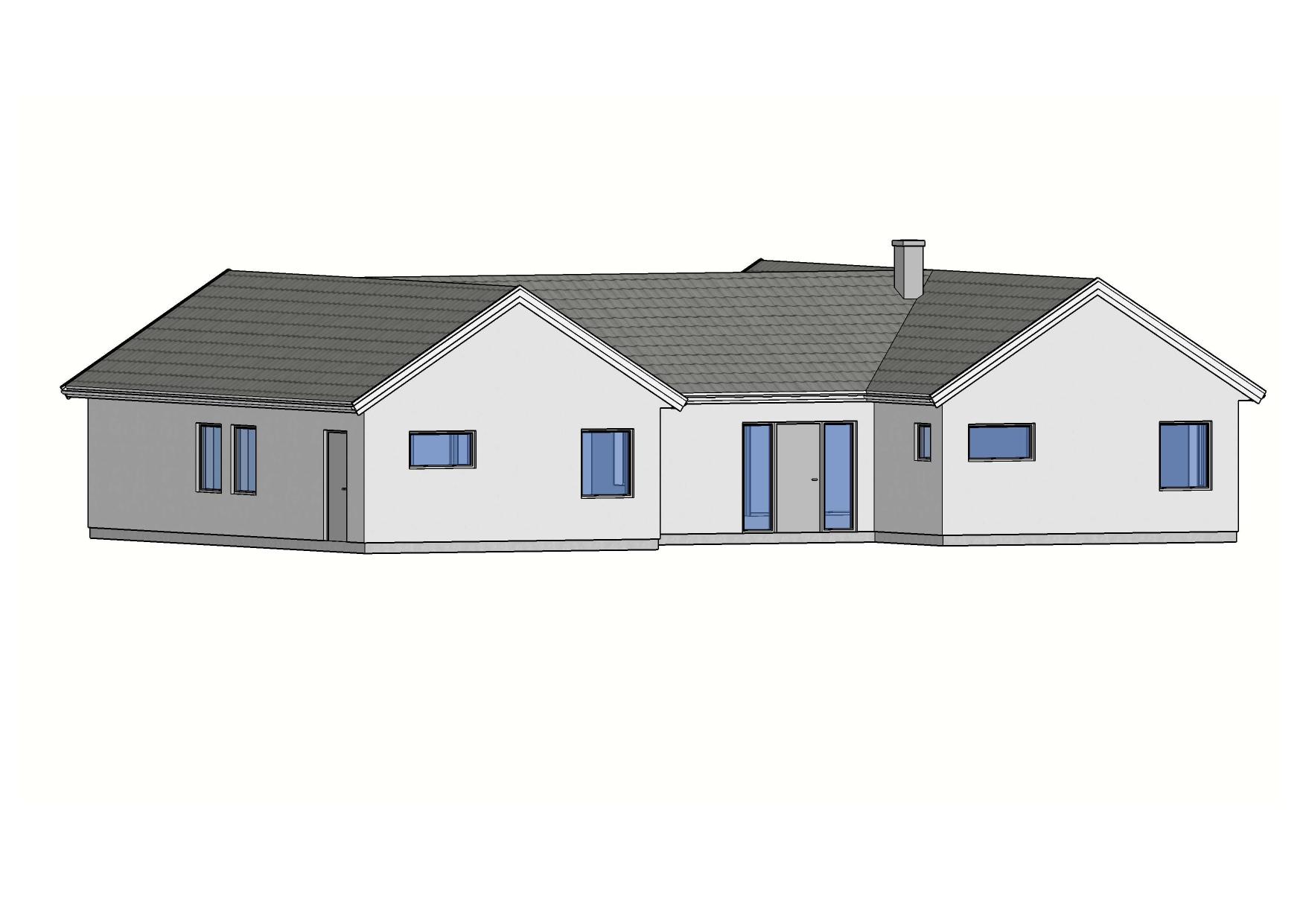 Fasad Villa Stehag – Referenshus